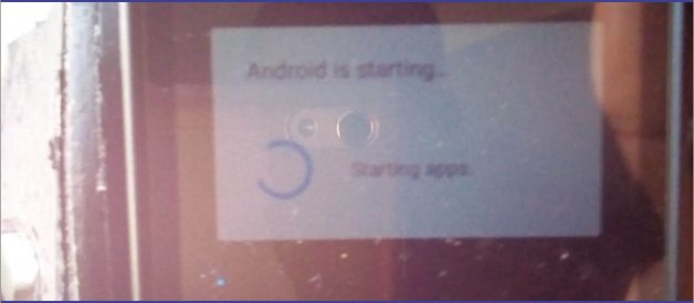 Solution Android is Optimizing Apps Starting Loop