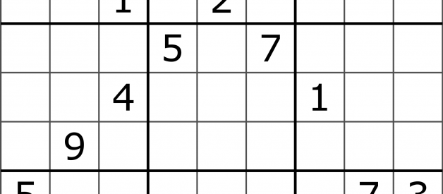 Solving Sudoku using a simple search algorithm