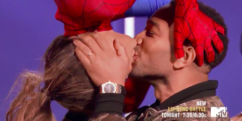 Spider-Man's Iconic Upside Down Kiss