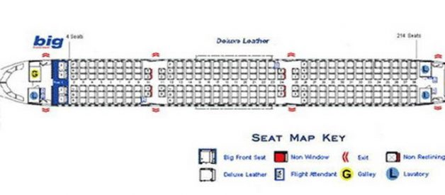 Spirit Airlines Airbus A320 Seating Chart