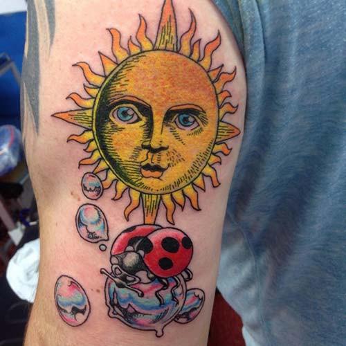 sun tattoos sun tattoos 21
