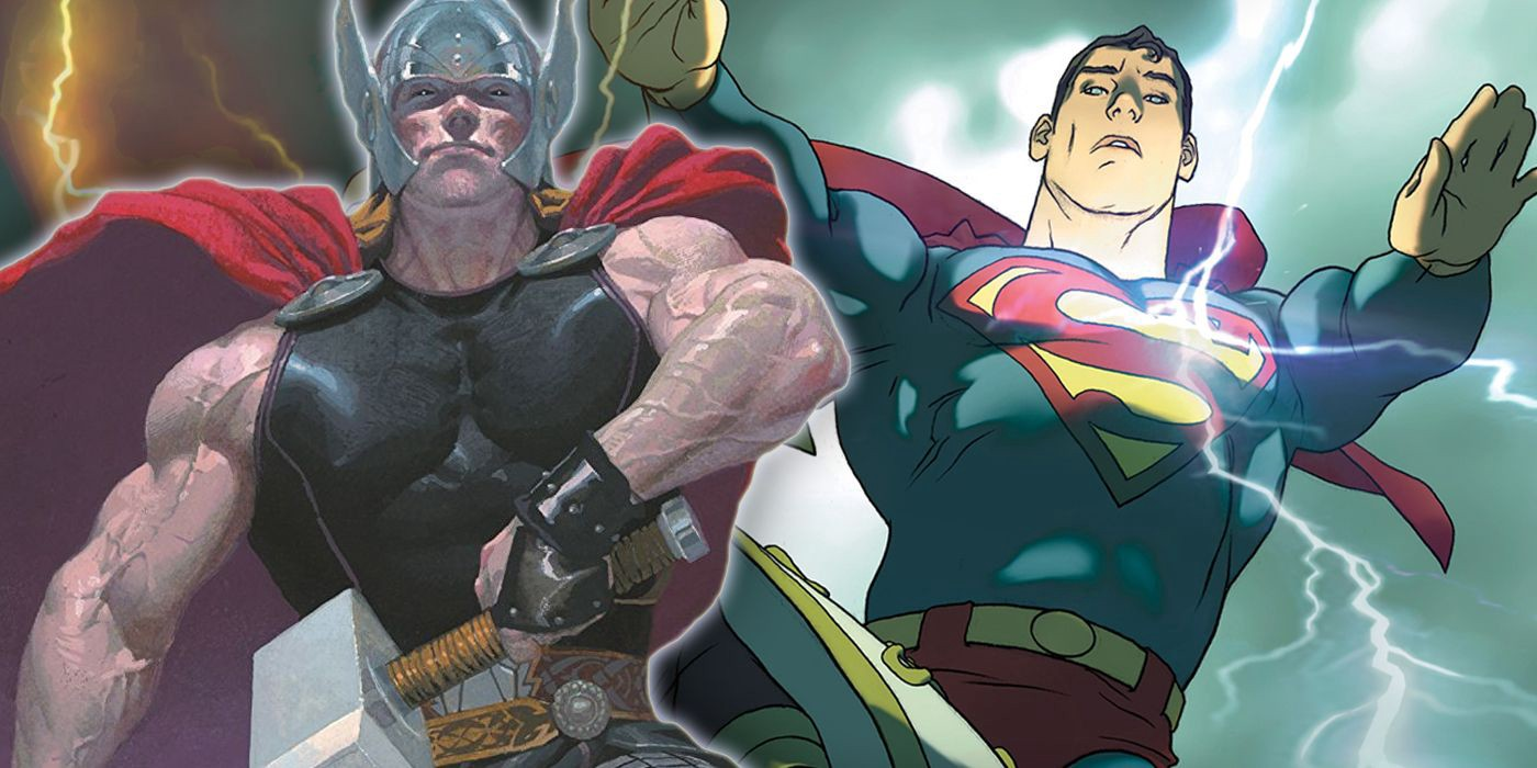 Superman VS Thor: Marvel Confirms Superman Would Win