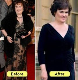 Susan Boyle Weight Loss — How did Susan Boyle lose weight? — FashionTalkz