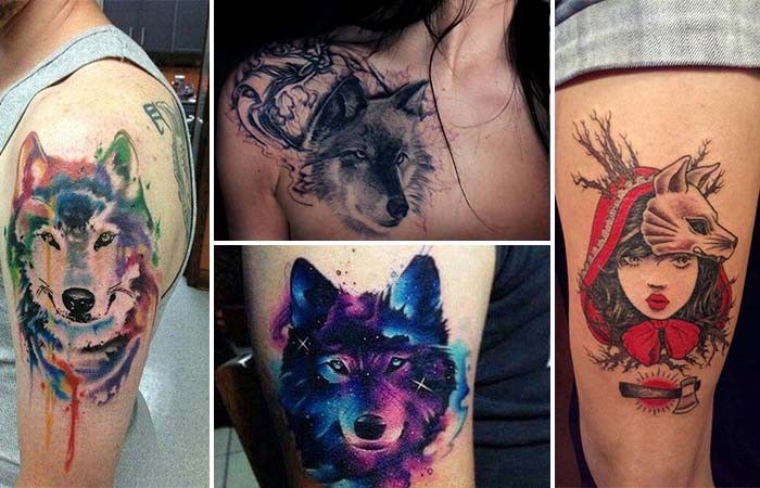 Wolf Tattoos And Meanings