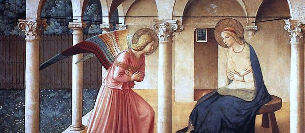 Symbols in Art: The Annunciation