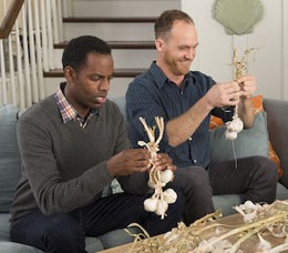 The Best Gay Couple in a Sitcom are Brothers.
