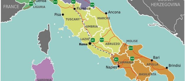 The big Italian divide: why is Southern Italy poorer than the northern part?