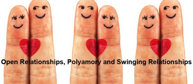 The Difference Between Open Relationships, Polyamory and Swinging Relationships.