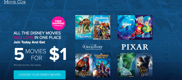 The Disney Move Club — Is it really a good deal? — YES — And how I bought 10 Disney movies for way cheaper than Best Buy, Walmart, and even Amazon.com