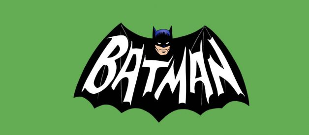 The emergence of the Batman logo through time and space