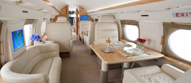 The Gulfstream G4 Private Jet