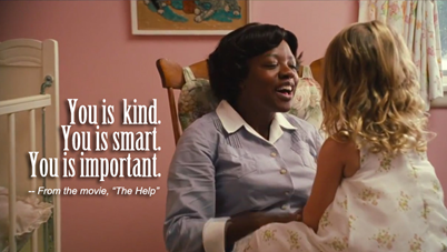 The Help (2011) — What gives Aibileen the courage to shout