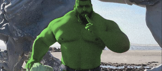 """The Iranian Hulk """"Sajad Gharibi"""" Announces His MMA Debut This Year! Hold on, We Are Getting Serious!"""