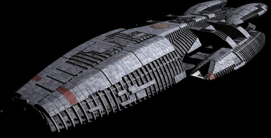 The Largest Ships in Science Fiction