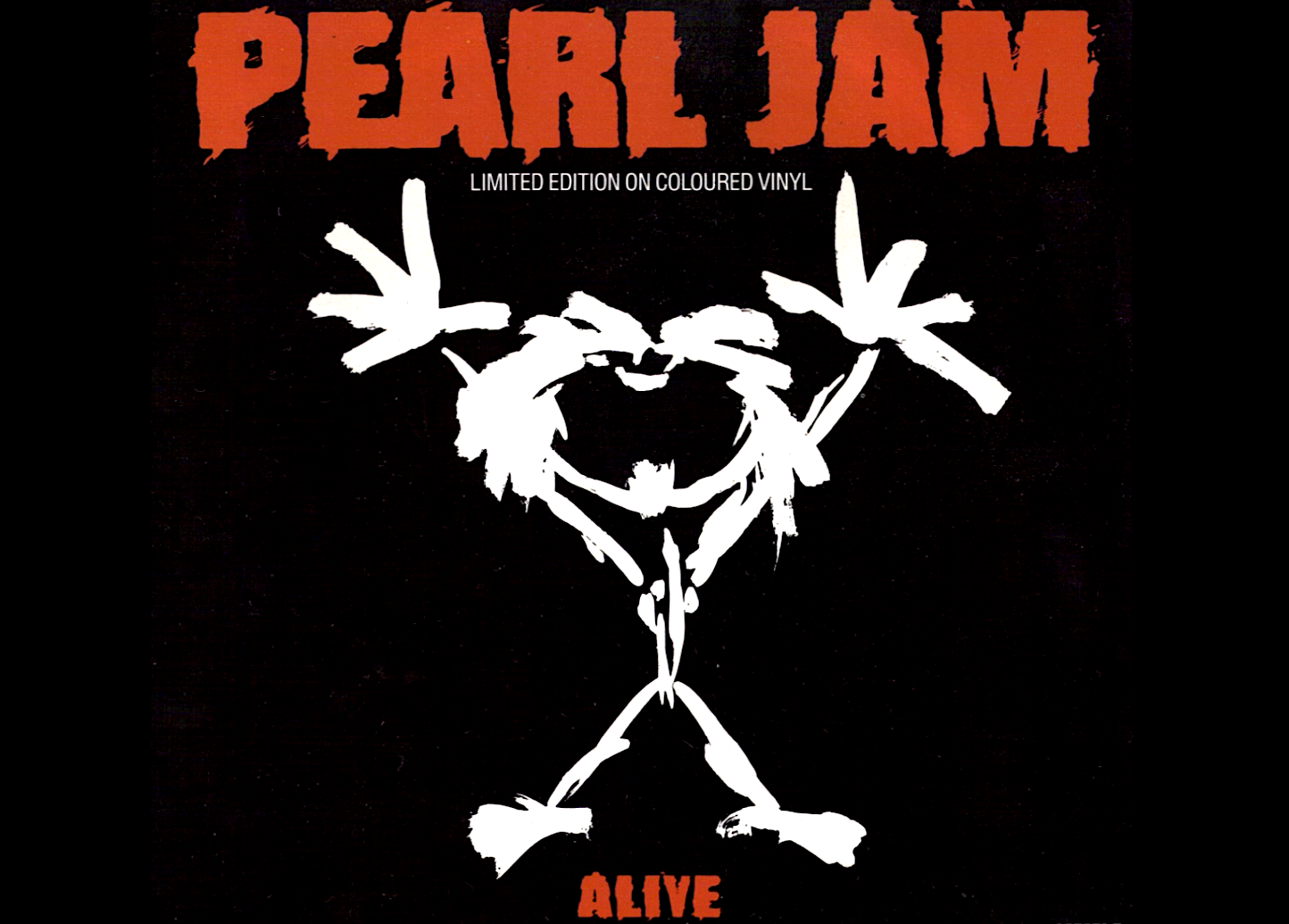 The design known as ?Stickman? that served as the artwork on the cover of the ?Alive? single.
