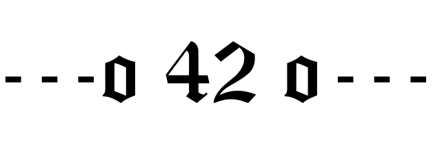 The Real Meaning of 42