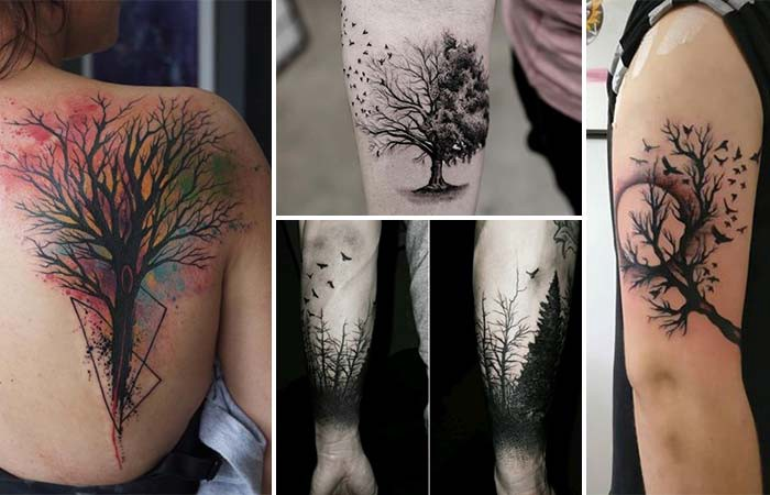 The Source Of Life Tree Tattoos And Meaning