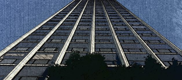 The worst sound I ever heard. A man jumping to his death from the 26th floor.