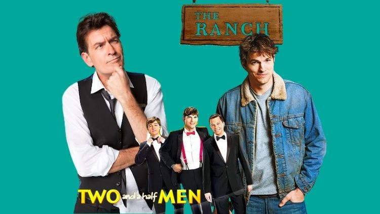 Charlie Sheen Vs Ashton Kutcher: Feud Over Two And A Half Men Season 13 And The Ranch Season 9 Continues