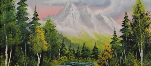 There's A Reason Bob Ross Didn't Sell His Paintings.