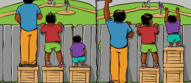 This 'Equity' picture is actually White Supremacy at work
