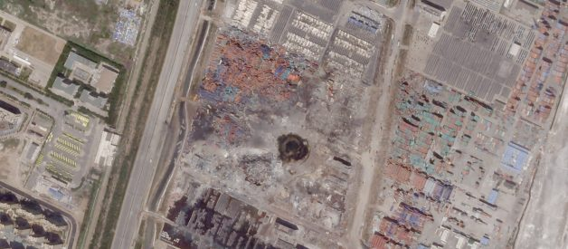 Tianjin Explosions Aftermath: Understanding Risk in Hi-Res