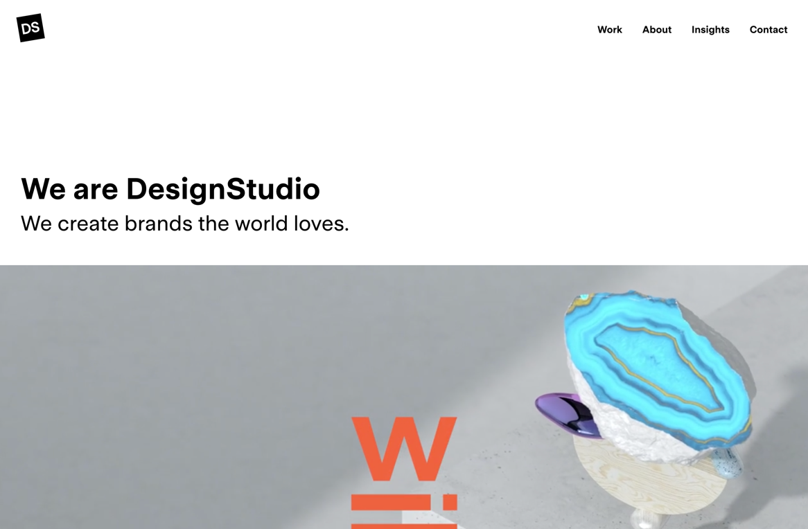 DesignStudio???a branding agency and digital creative firm