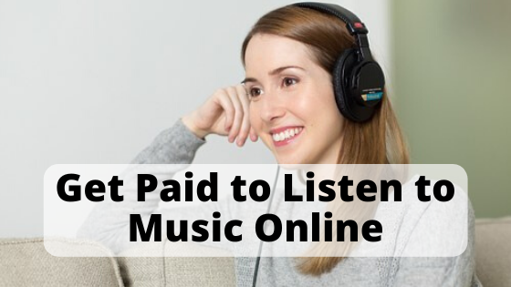 get paid to listen to music online