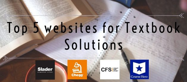 Top 5 websites for Textbook Solutions