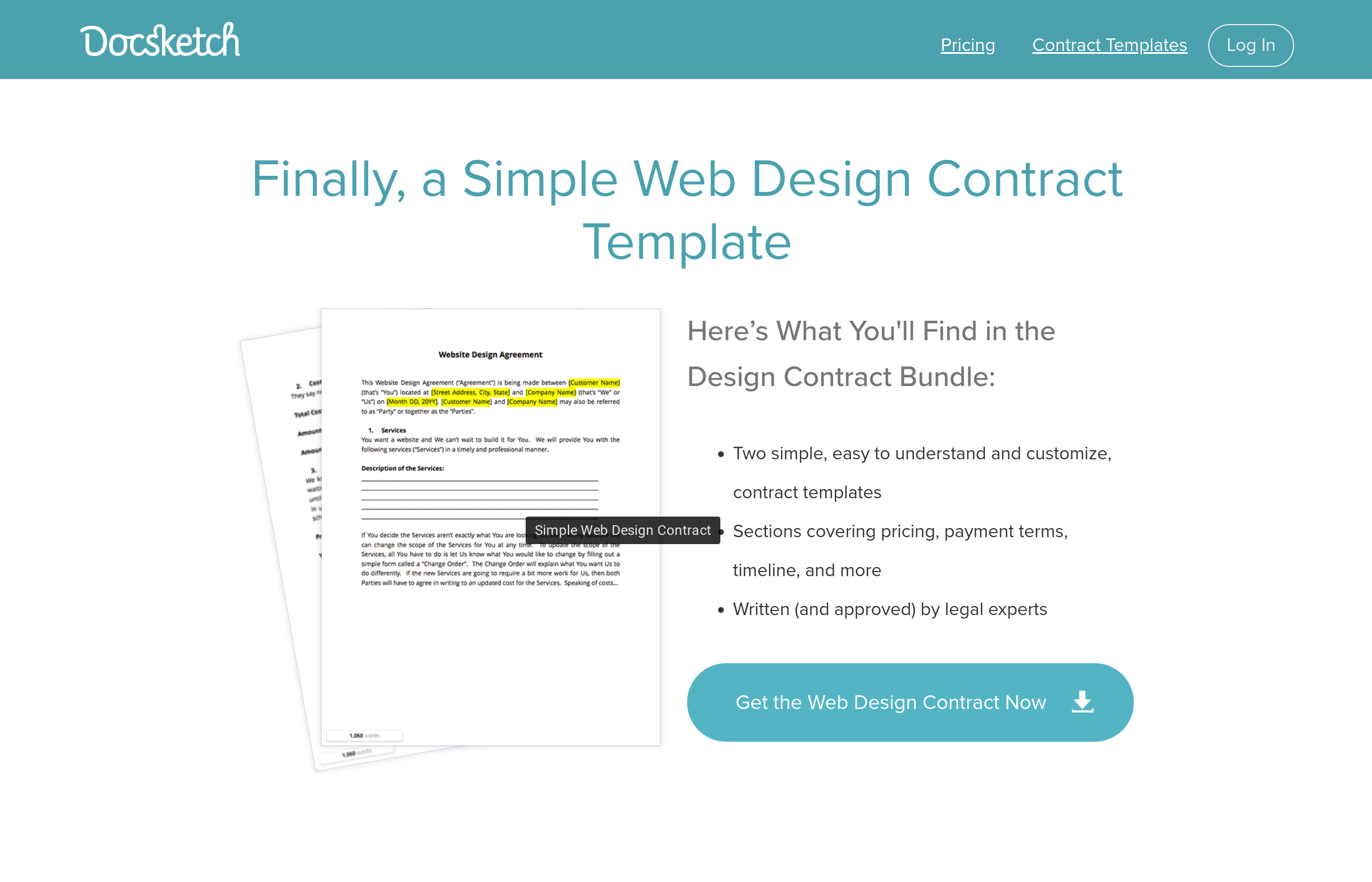 Freelance Web Developer Contract Template From DocSketch