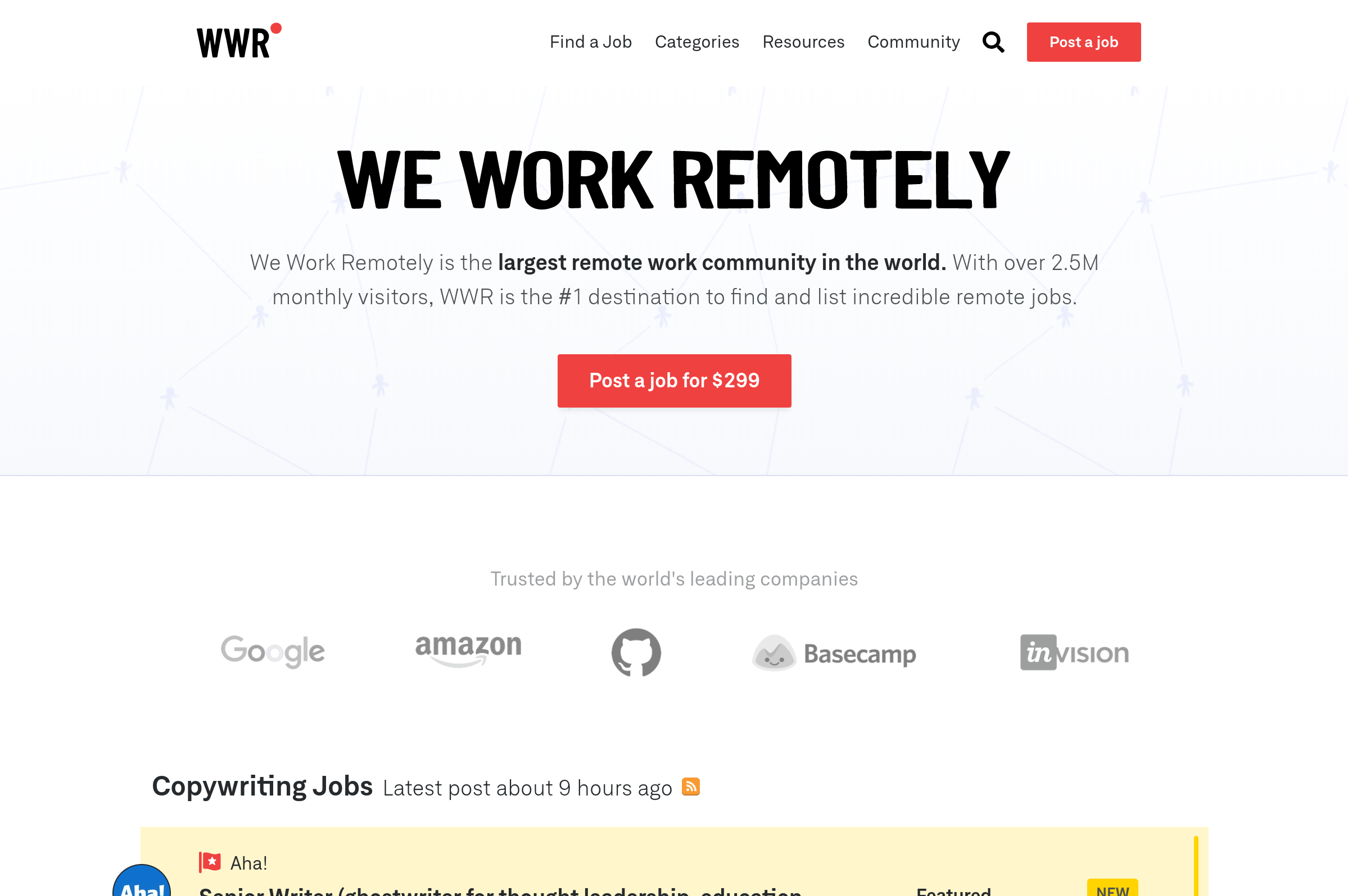 Find Remote Freelance PHP Jobs on We Work Remotely.