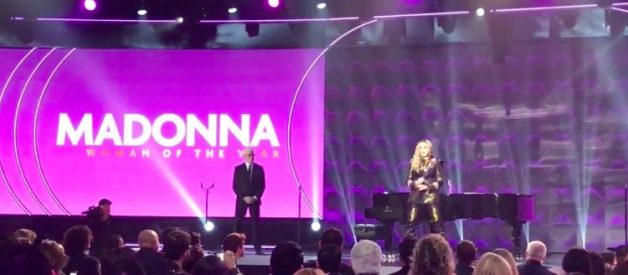"Transcript of Madonna's Controversial 2016 ""Woman of the Year Award"" Thank You Speech at Billboard Music Awards"