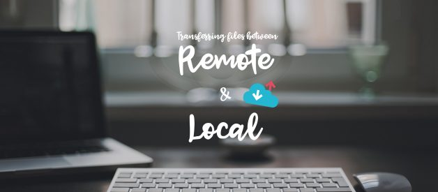 Transferring files between remote server and local system