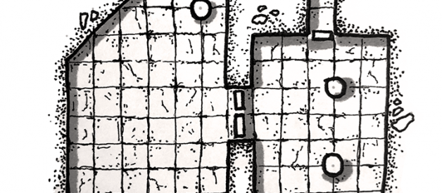 Tutorial: How to draw a basic dungeon map