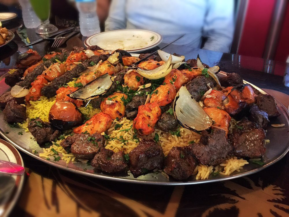 Halal middle eastern food in Anaheim