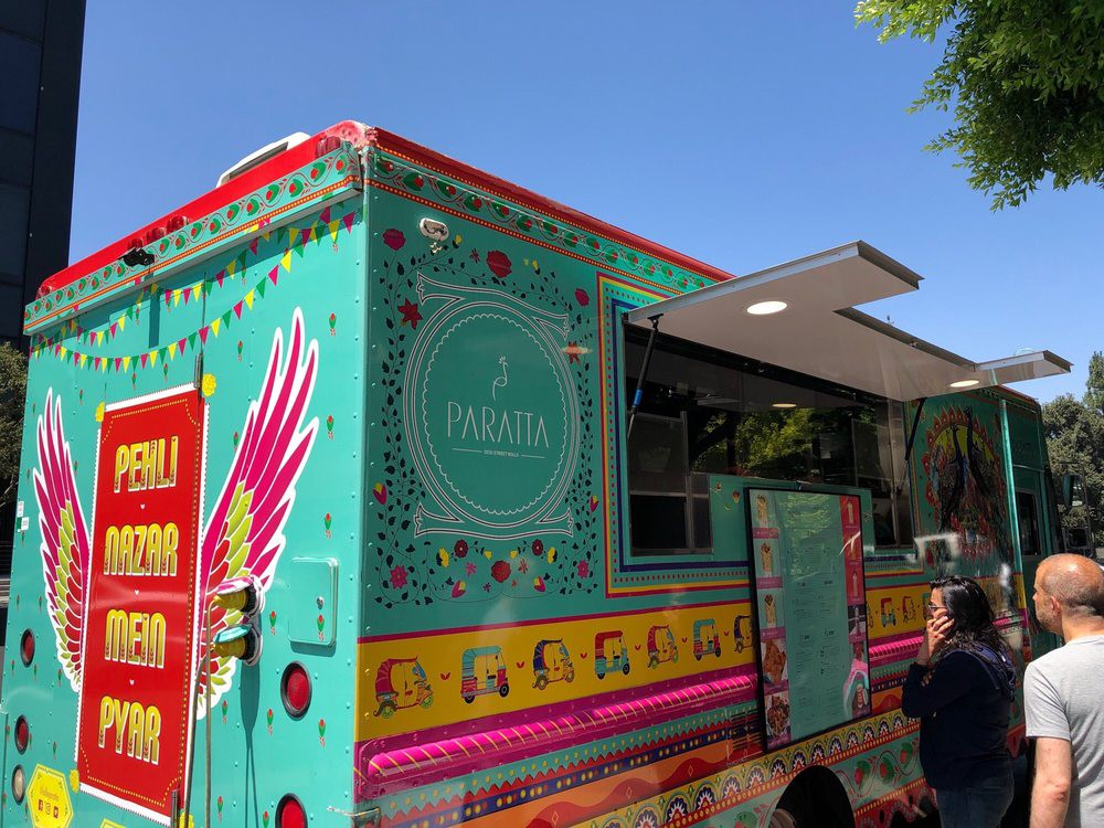 Halal food truck in Los Angeles