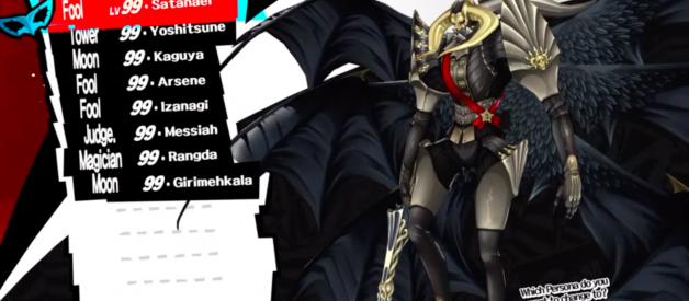 Ultimate Persona Team (Persona 5 Builds)