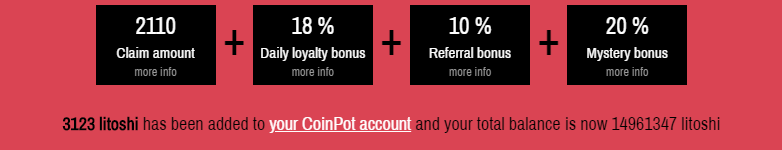 Faucet claim from Moon Litecoin
