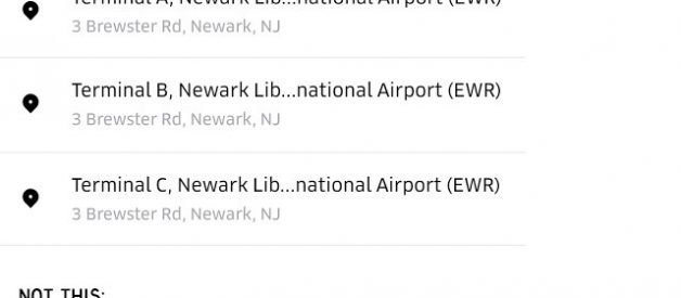Using Lyft or Uber for Newark Airport? Read This First.
