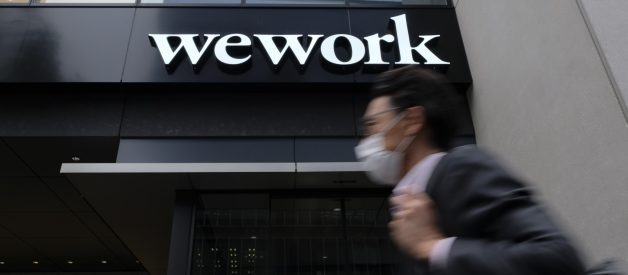 WeWork's Gamble to Act Like a Boring, Normal Company