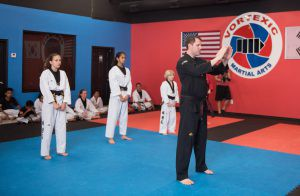 tae kwon do black belt instructor