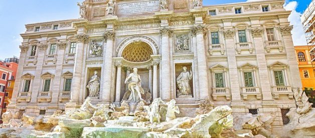 What is the story behind the Trevi Fountain?