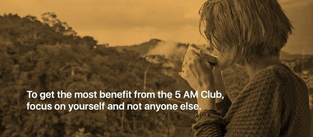 What it's like to be part of Robin Sharma's 5 AM Club.