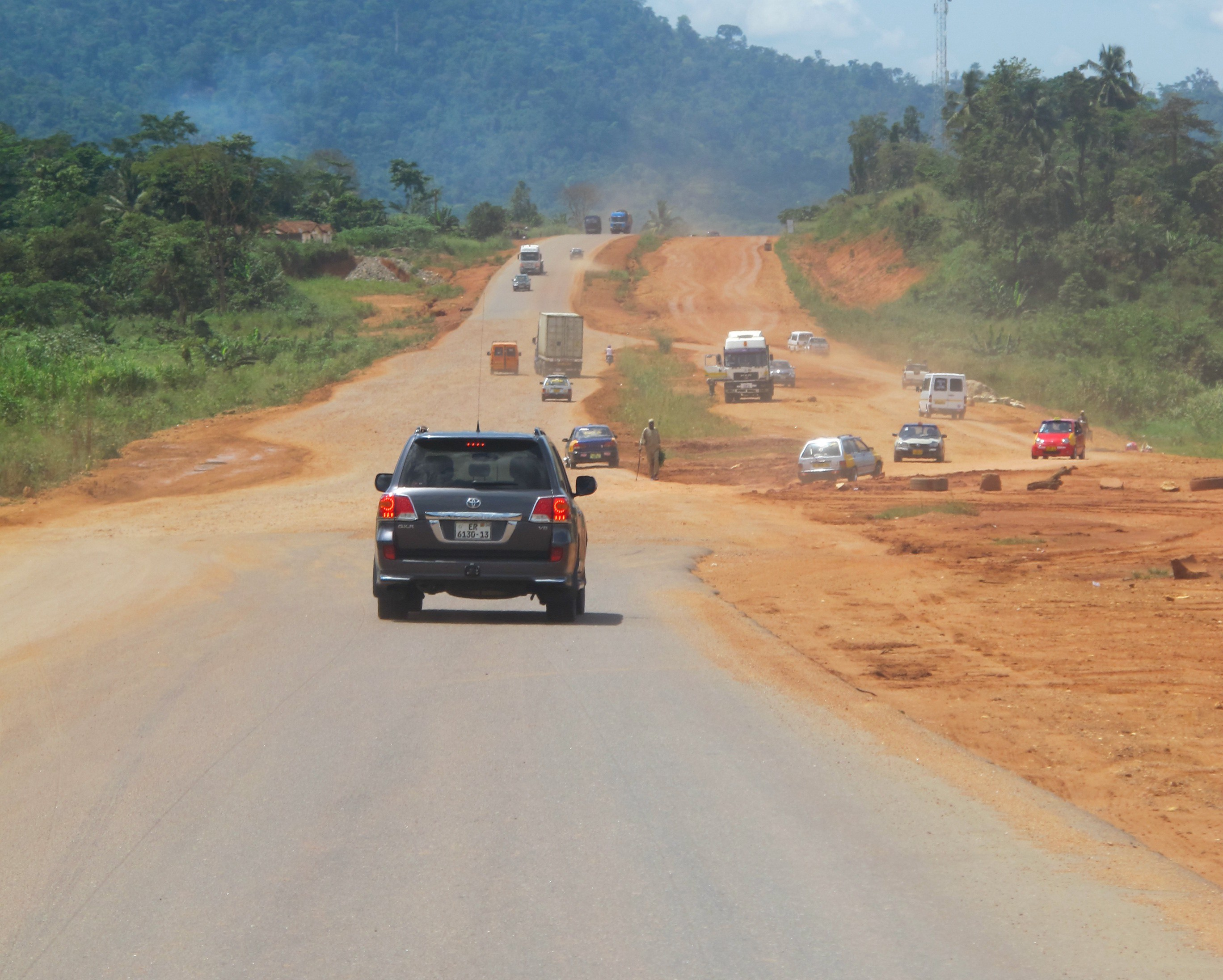 On the Road to Kumasi photographed by Paul Boakye.