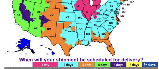 What time does FedEx deliver to my zip code area?