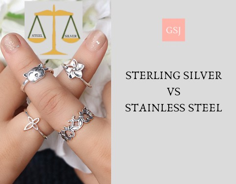 Sterling Silver Jewelry vs Stainless Steel Jewelry