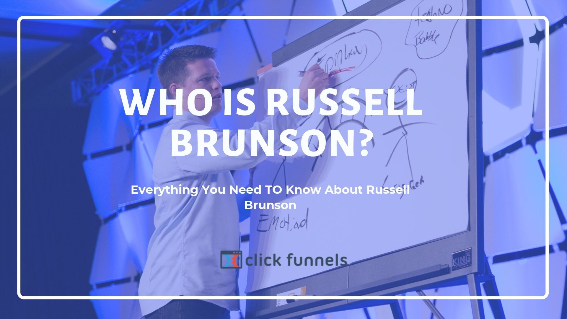 who is Russell Brunson and everything you need to know about him