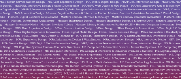 Why Are Interaction Design Degree Programs So Different?