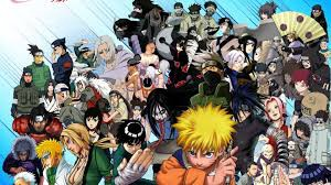 All the characters from naruto