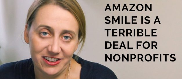 Why Nonprofits Need to Stop Falling for the Amazon Smile Scam